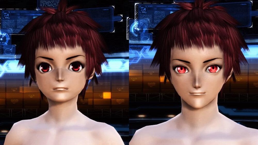 【PSO2】女性キャラクリの顔バリエーション比較