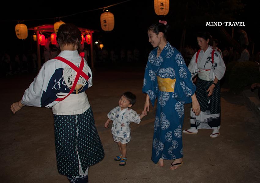 涌泉寺 さし踊り