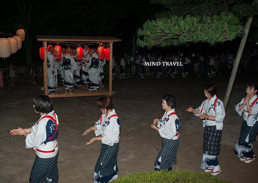 涌泉寺 さし踊り2