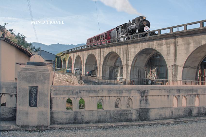 五新鉄道 SLを合成