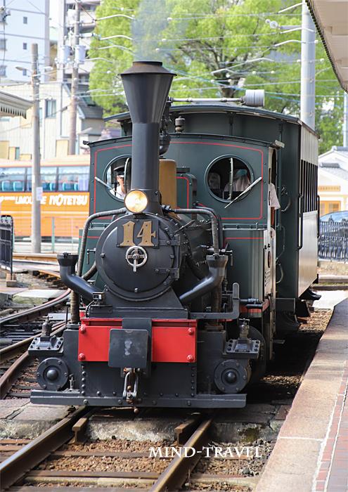 伊予鉄道 坊ちゃん列車