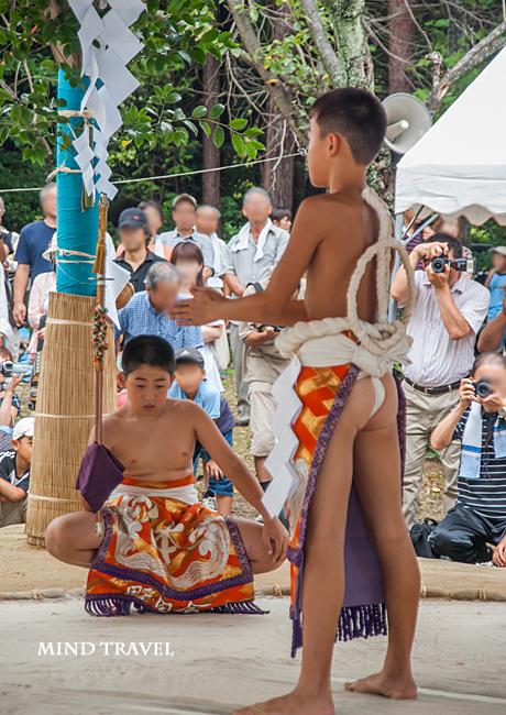 大原野神社 御田刈祭