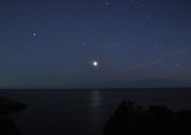 金星の光の道_20180811_DSC_18501