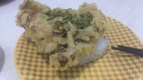 舞茸の天ぷら茶塩