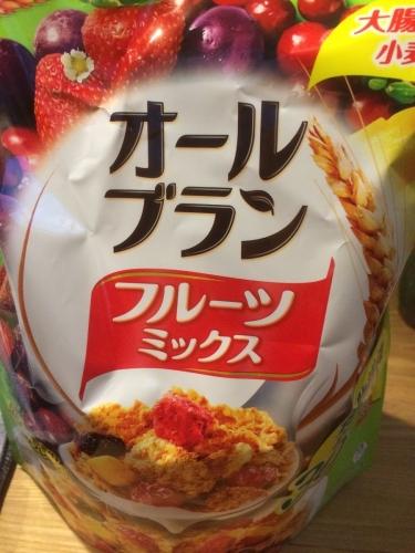 日本ケロッグの「オールブランフルーツミックス 」