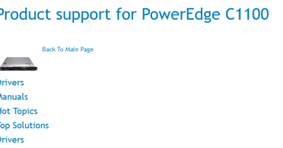 Screenshot_2018-09-29 Product support for PowerEdge C1100