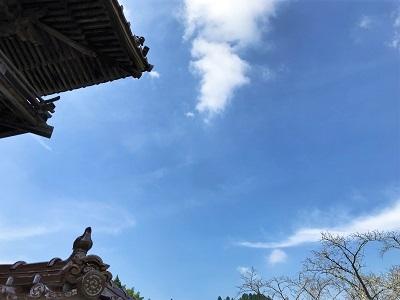 お盆の空 (1)