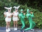 2018年田沢湖マラソン・ウサギと亀の2ペア