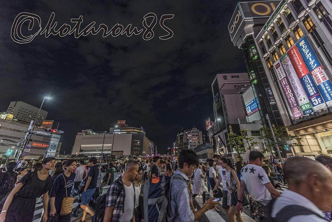 蒸し暑い錦糸町 20180826