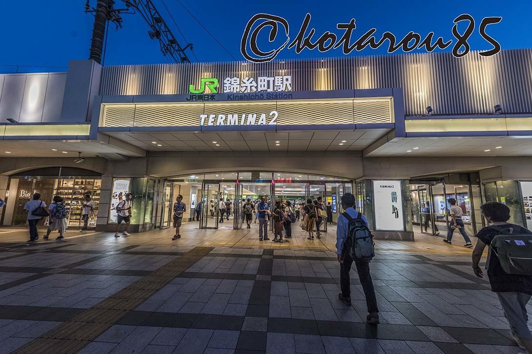 蒸し暑い錦糸町駅前5 20180826