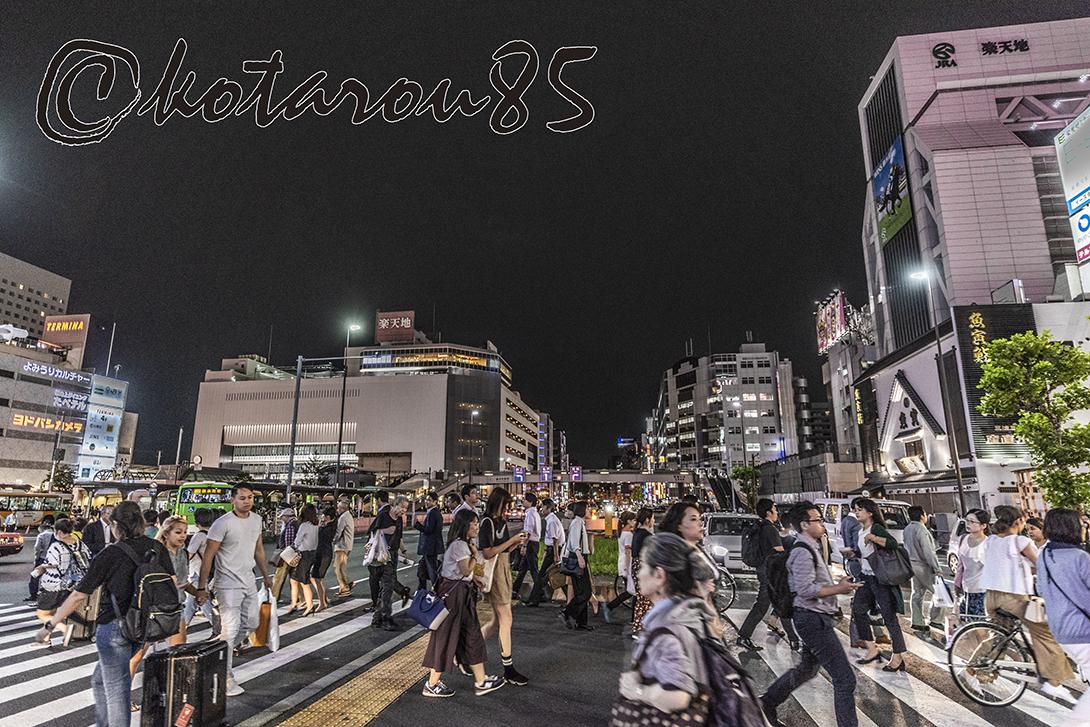 錦糸町の夜 20180913