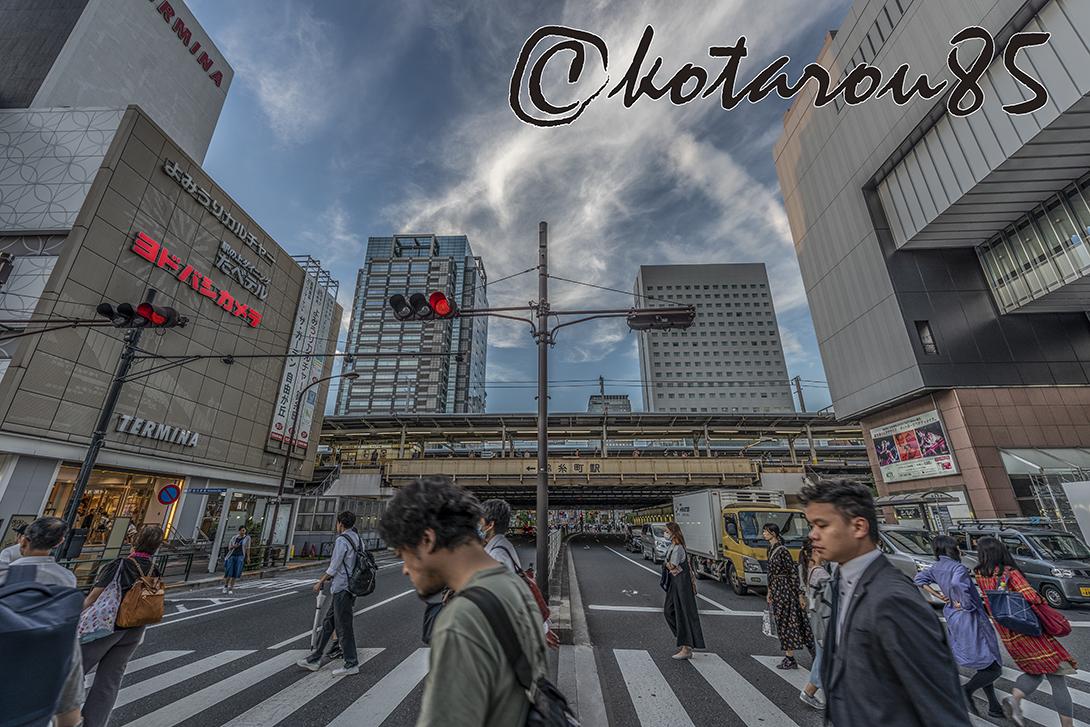 土曜日の錦糸町駅前 20180923