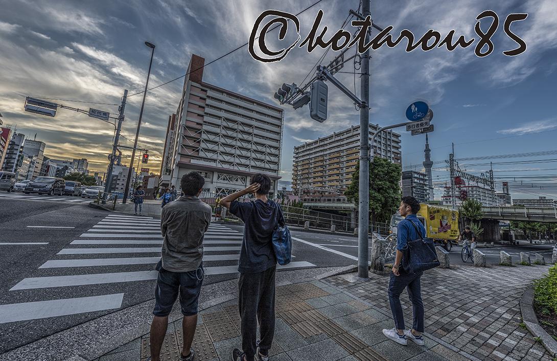 土曜日の錦糸町駅前4 20180923