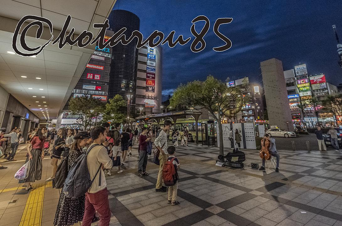 錦糸町駅前の演奏会 20180924