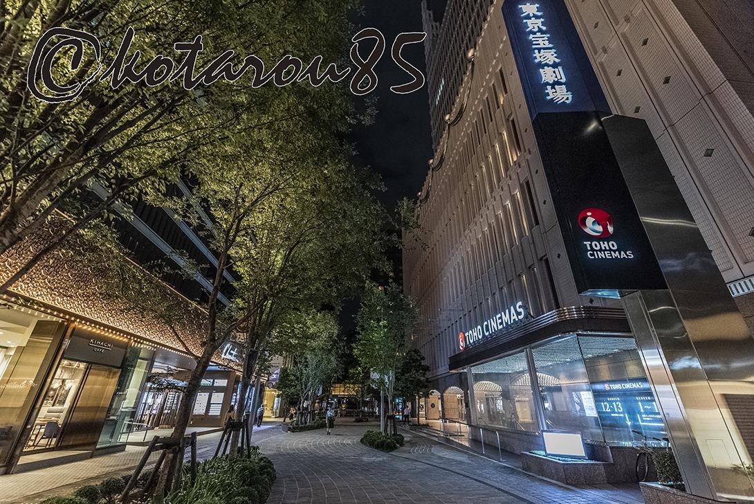 劇場ストリート 日比谷仲通り5 20180925