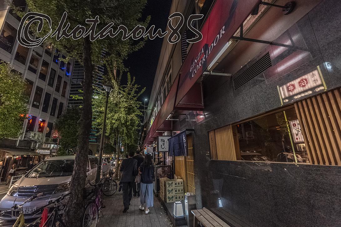 週明けのコリドー街5 20181002
