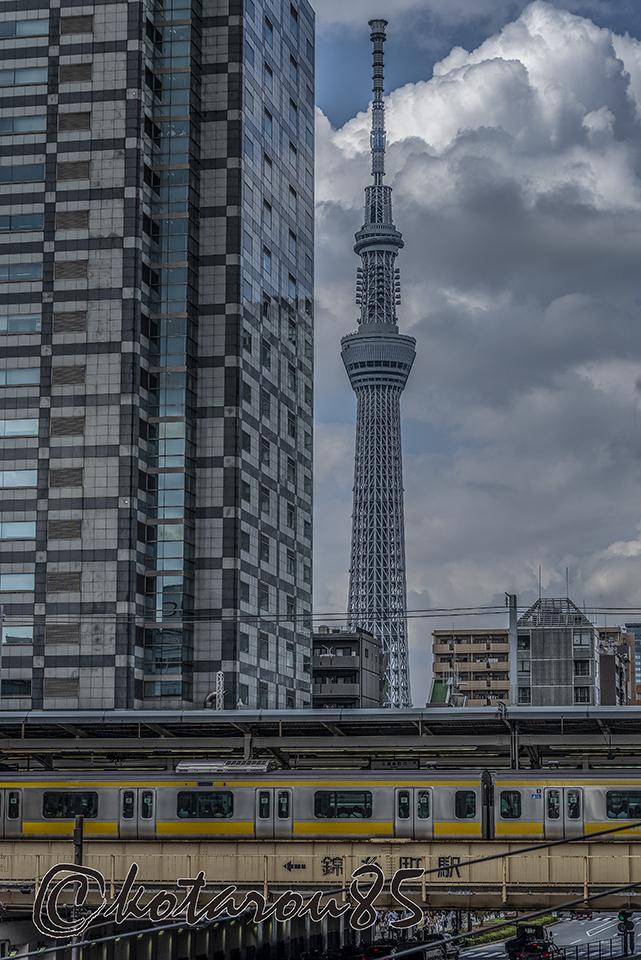 三連休明けの錦糸町6 20181009