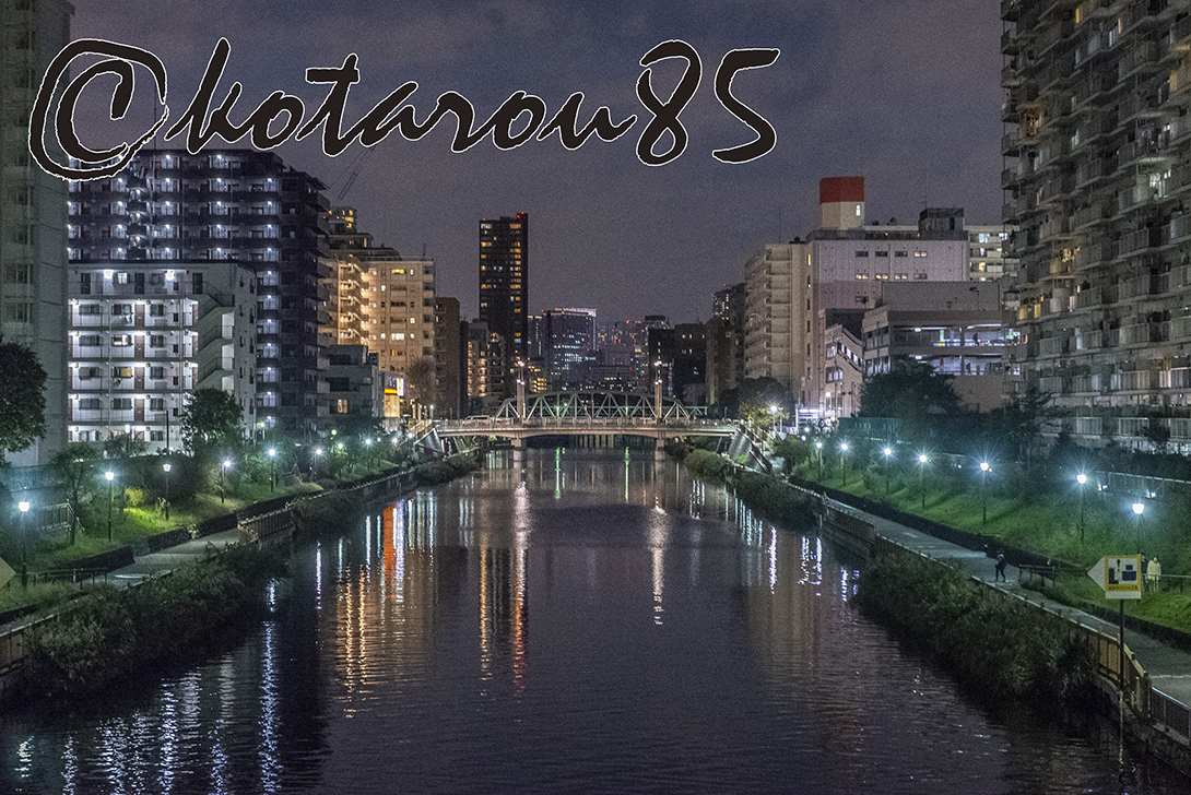 日曜日の小名木川 20181015