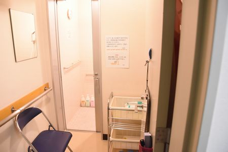 東都文京病院病棟共用シャワールーム