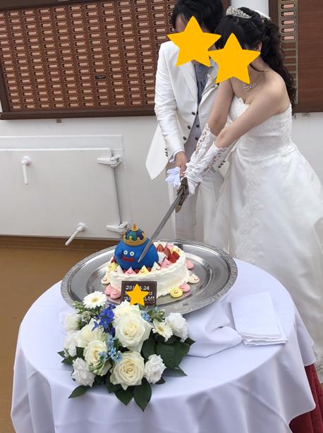 O様 結婚式用 非金属製ドラクエミュージアムverロトの剣頂いたお写真2