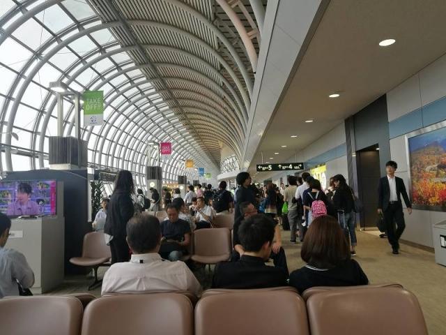 仙台空港待合室