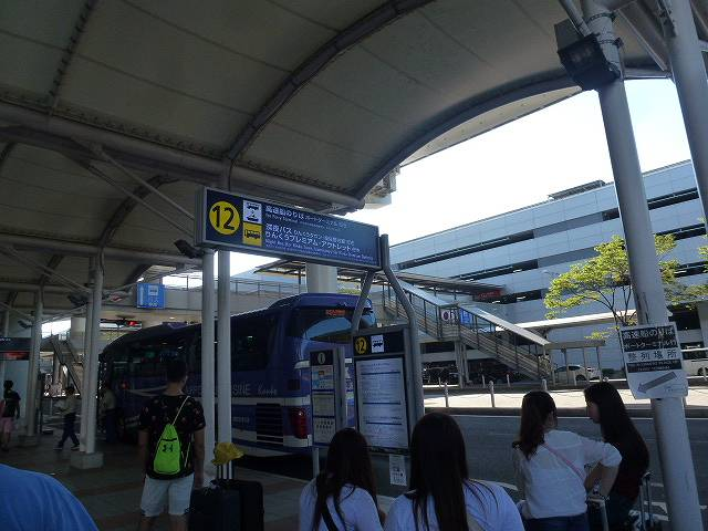 関空バス乗り場