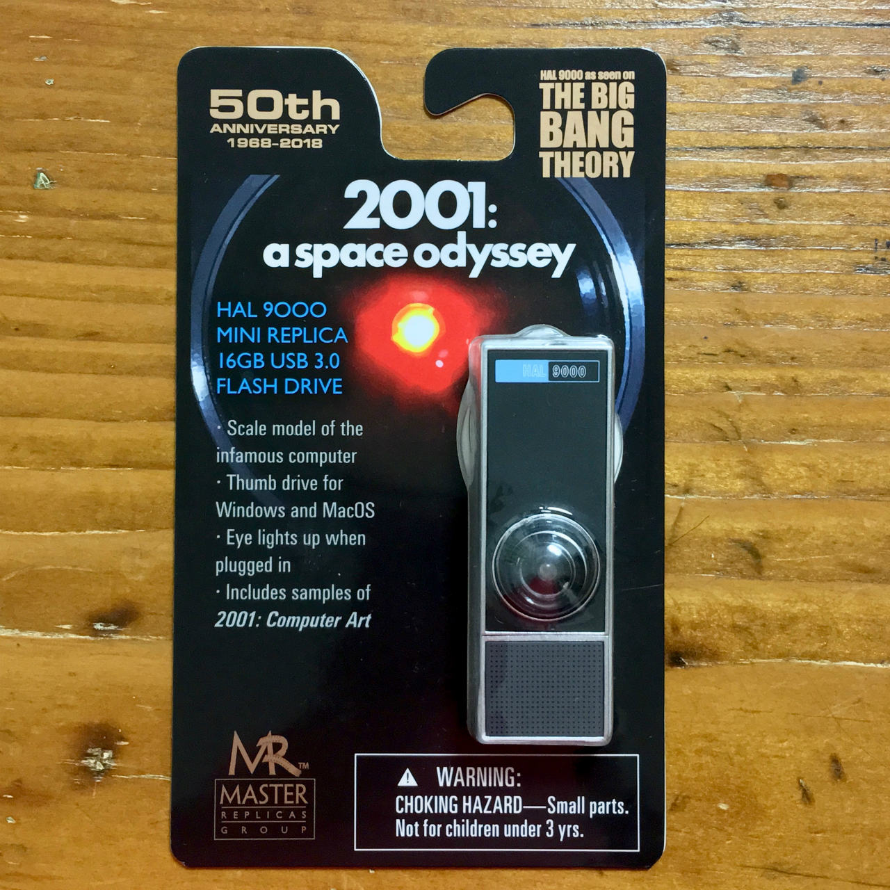 「2001年宇宙の旅」 HAL9000のUSBメモリ