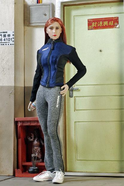 Grey Female Sport Suit 0103