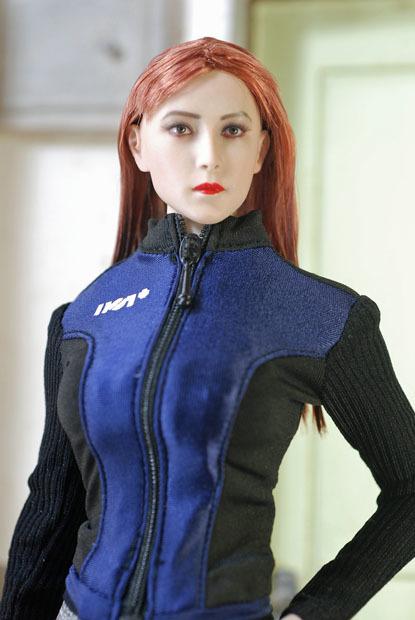 Grey Female Sport Suit 0104