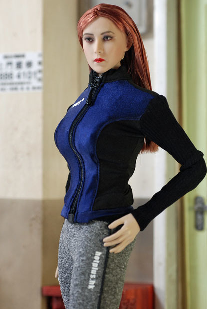 Grey Female Sport Suit 0105