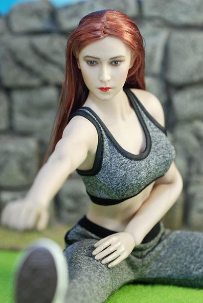 Grey Female Sport Suit 0111