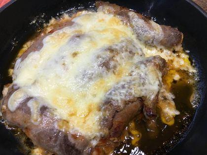 キムチの肉巻きチーズ焼き
