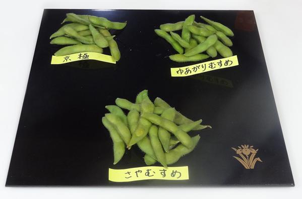 2018年07月24日③卑弥呼さんからいただいた枝豆で食べ比べ - コピー