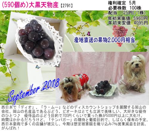 (590)2018年09月到着 大黒天物産