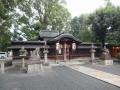 田中神社本殿(京都市左京区)