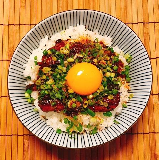サンマ蒲焼き缶詰丼5