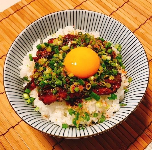 サンマ蒲焼き缶詰丼6
