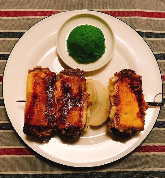味吉陽一特製パン包み串焼きハンバーグ12