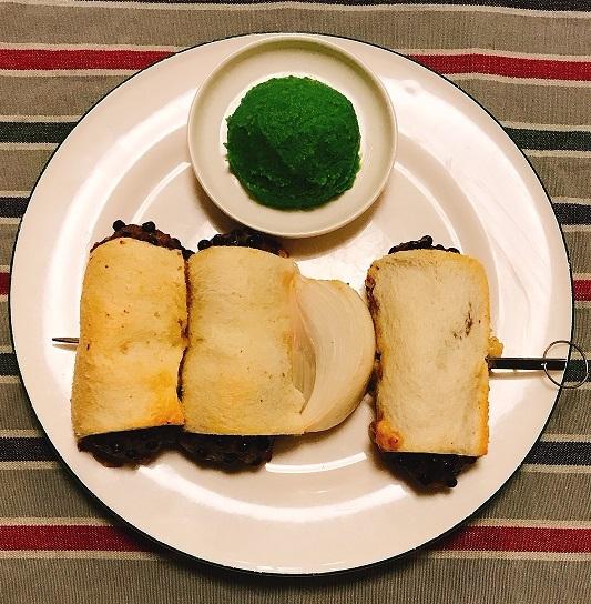 味吉陽一特製パン包み串焼きハンバーグ15