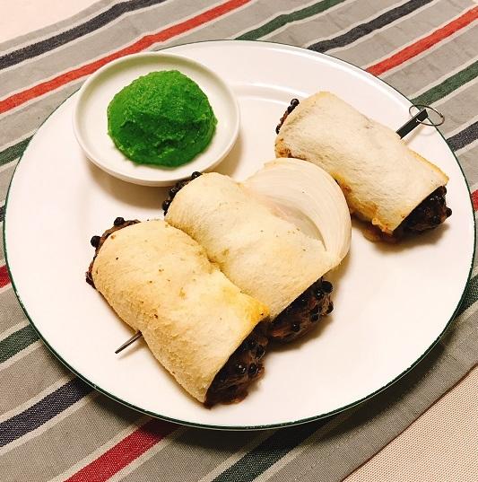 味吉陽一特製パン包み串焼きハンバーグ16