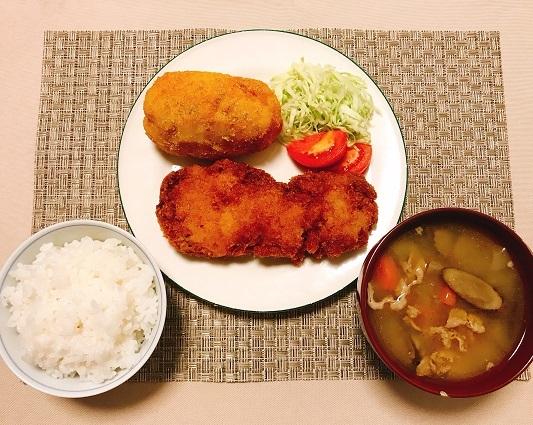 阿倍一郎特製フライ定食15