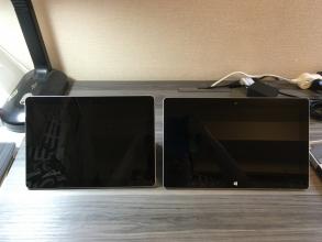 8/28発売の「Microsoft Surface Go」を購入したので、過去のSurface Pro3、Pro4、RTと比較してみた♪