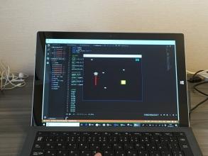 小学生のうちから楽しく「Python(パイソン)」プログラミングに触れる♪ 先に見せるゴールは・・・「自分のゲームを作る」!