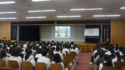 20180915花咲徳栄学校説明会