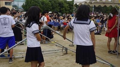 20180916浦高祭女装