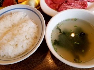 食道楽の他 松江焼肉ランチはここ