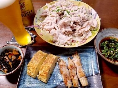 男料理♪手料理♪出雲特製晩飯w
