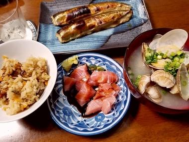 特製晩飯♪
