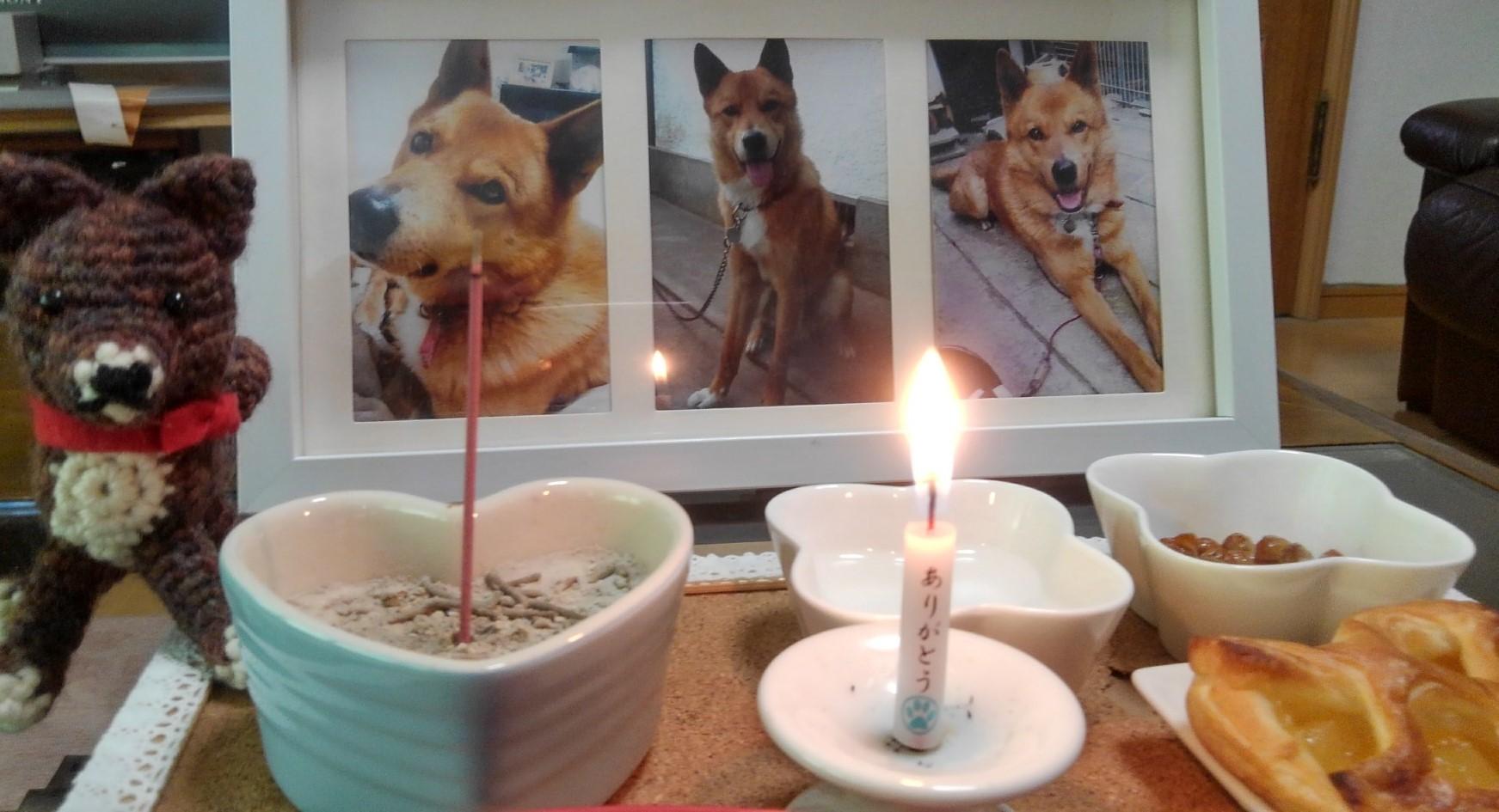 ありがとうマー蝋燭