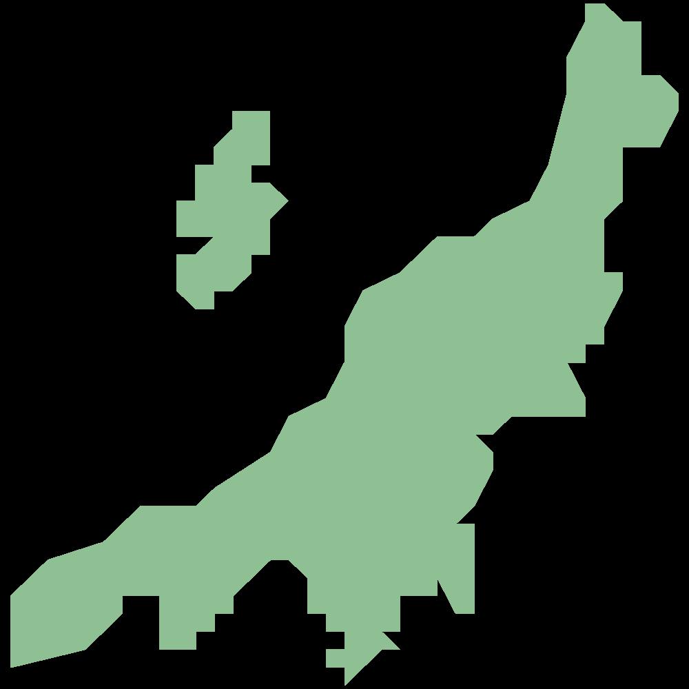新潟県の地図イラスト マップラボ 地図アイコンを無料